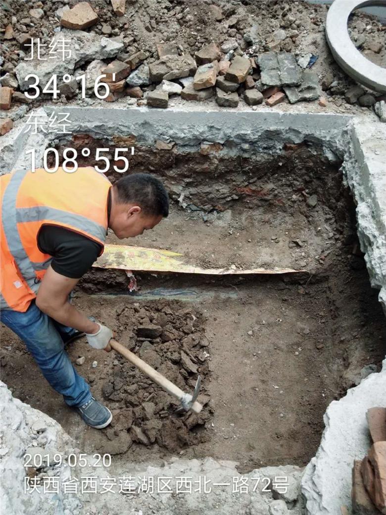 陕西省西安市莲湖区中国移动5g管网铺设(一)
